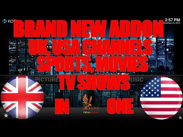[BRAND NEW] BEST LIVE TV ADDON FOR KODI DECEMBER 2016 | UK, USA CHANNELS,  SPORTS, MOVIES, SHOWS IN 1