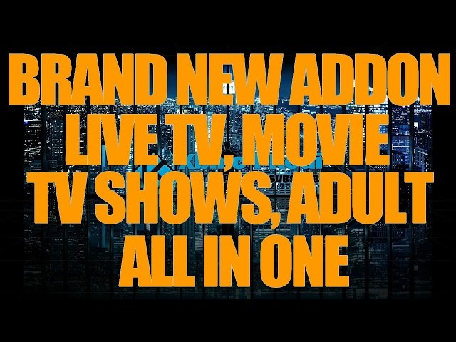 The ONLY Streaming addon for Kodi that works